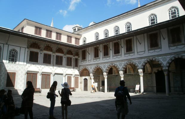 Harem in Topkapi Palace
