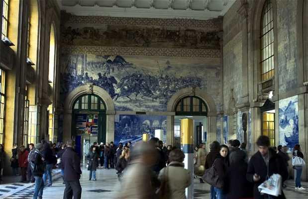 Stazione di San Bento a Oporto