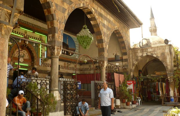 Mercatino di Azem Ecole a Damasco