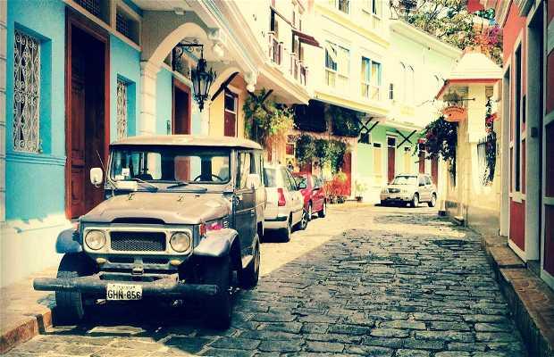 Calle de las peñas, guayaquil