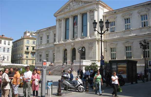 Palazzo della Giustizia e Vecchia Nizza