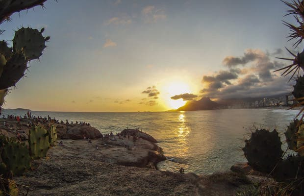 Sunset at Arpoador