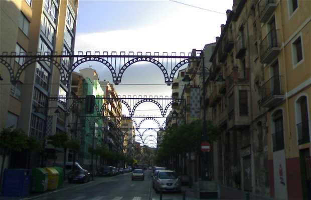 Via Pais Valencia di Alcoi