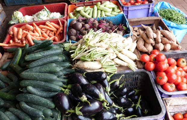 Zoco de fruta y verdura