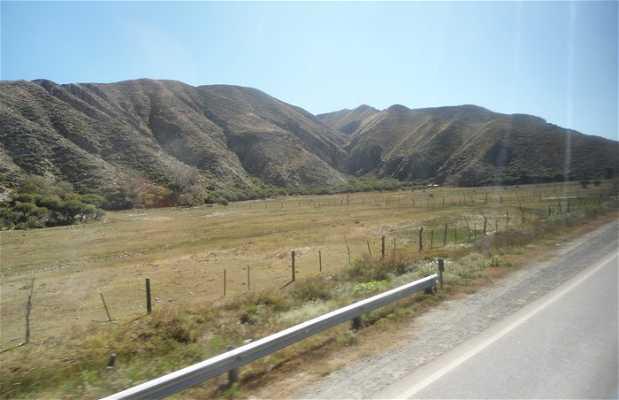 Carretera 68 entre Cafayate y Salta