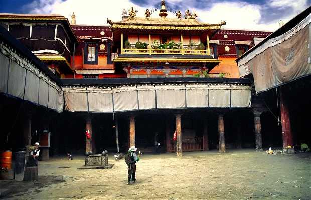 El templo del Jowo Buda en Jokhang