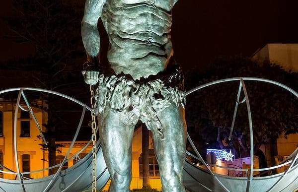 Estatua del Dios Crono