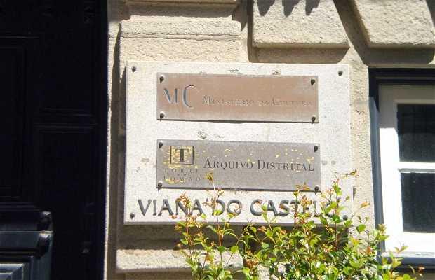 Archivo Distrital de Viana do Castelo (ADVCT)
