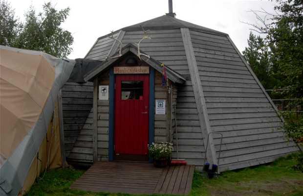 Jukkasjärvi, villaggio sami a Kiruna