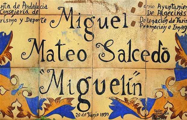 """Monument à Miguel Mateo """"Miguelín"""""""