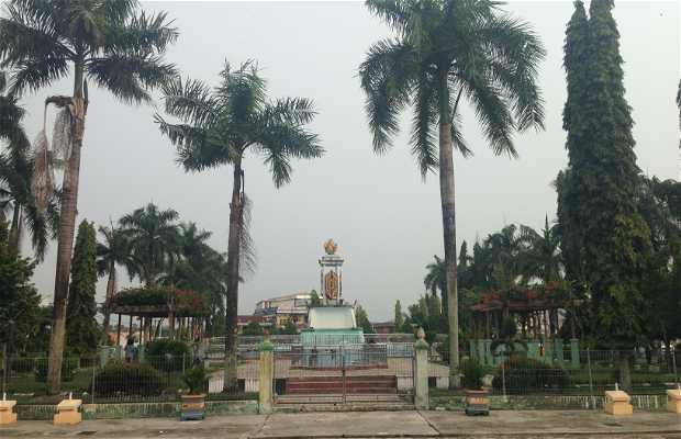 Plaza de la villa de Nunukan