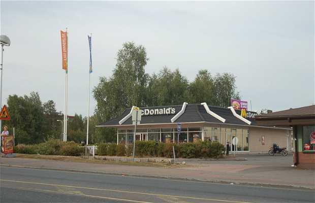 Il McDonald's più a Nord d'Europa