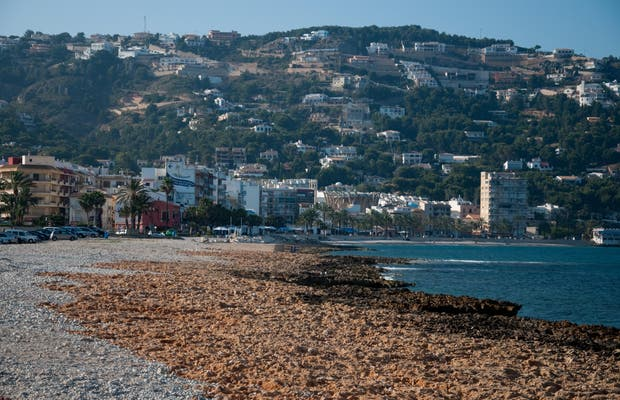 Beach of Javea