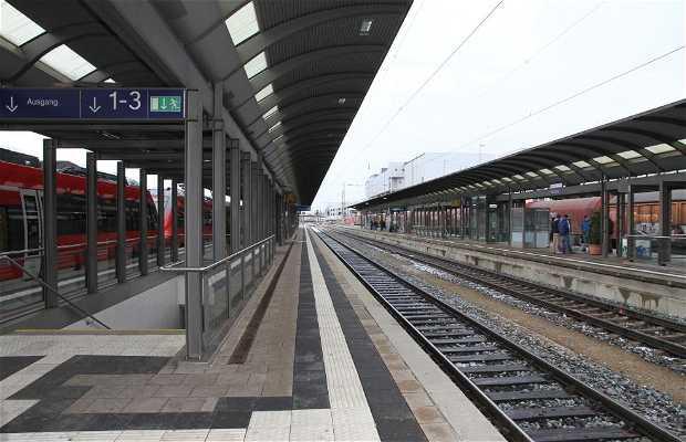 Train Station Bamberg