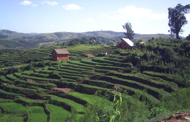 RN7 in Madagascar