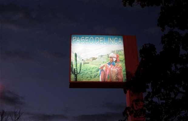 Paseo del Inca