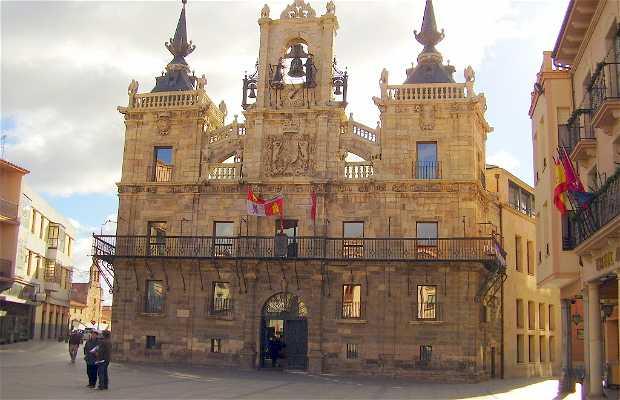L'Hôtel de ville d'Astorga