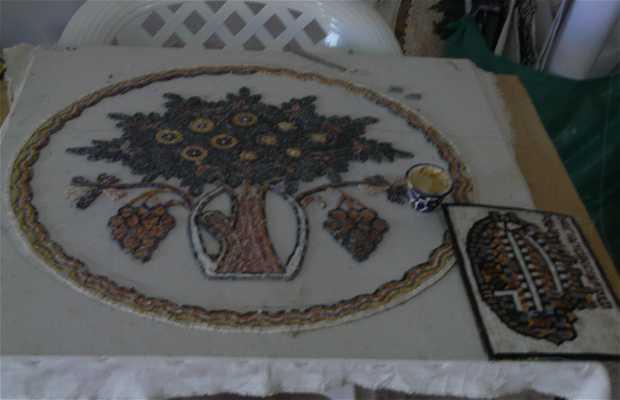 Tienda de artesanía jordana
