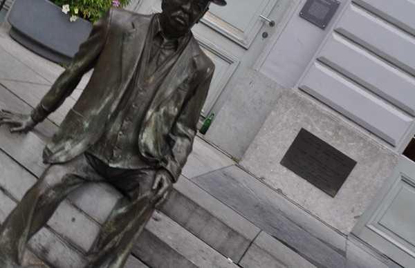 Statue of Romain Deconinck