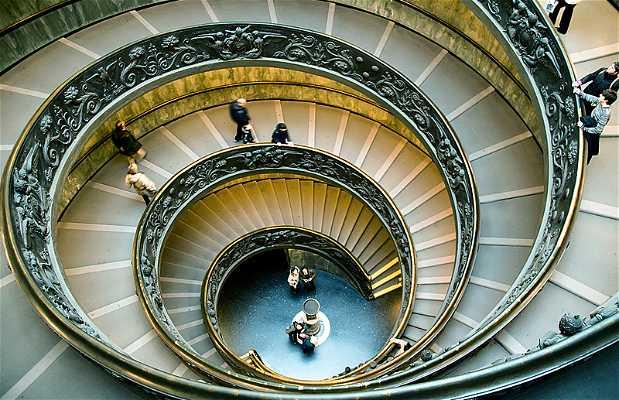 Escalera helicoidal - Museos Vaticanos