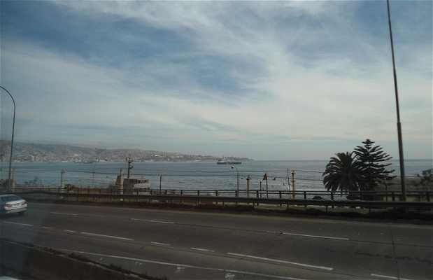 Vista desde Viña del Mar