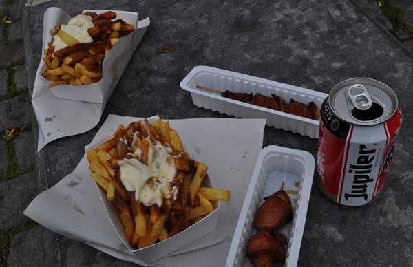 Tenderete de patatas fritas Central