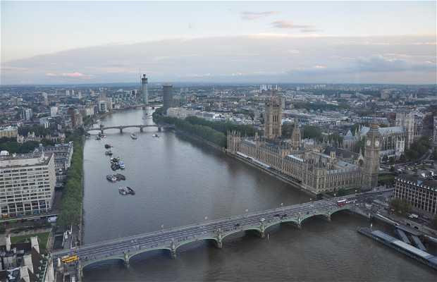 Vistas desde London Eye