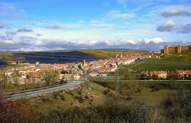 Panoramic view of Sigüenza