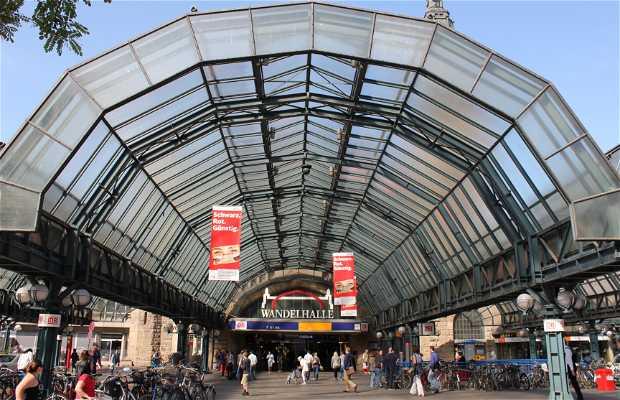 Gare centrale Hambourg