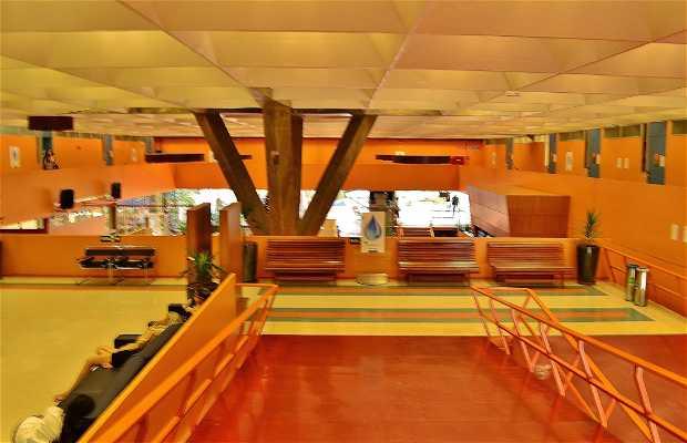 Área de exposições Senac