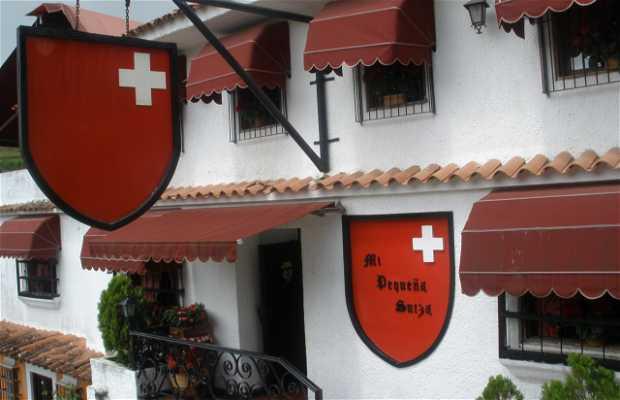 Le restaurant Ma petite Suisse