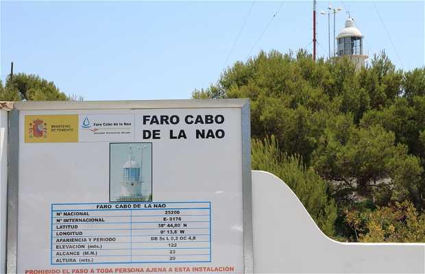 Faro del Cabo La Nao