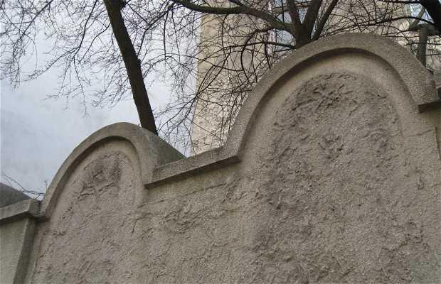 Vestígios do Muro do Gueto