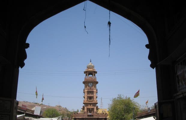 Clocktower in Jodhpur