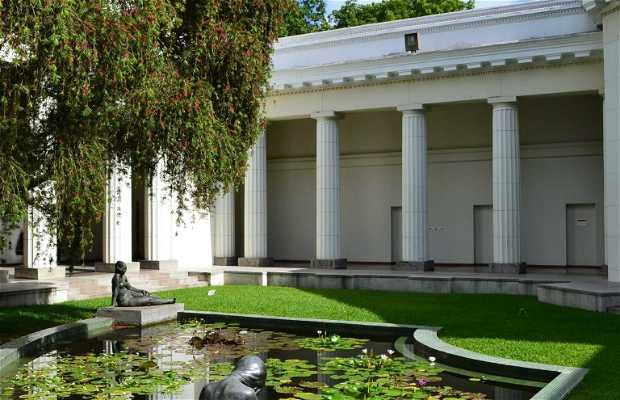 Garden of the Museum of Science