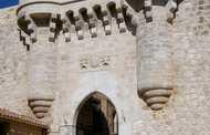 Puerta De Santa María Y Muralla Medieval