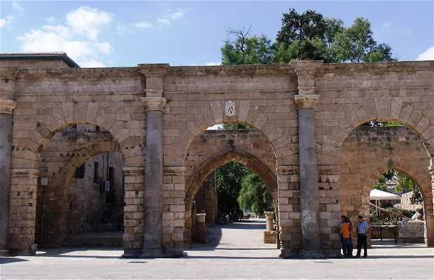 Venetian palace ruins