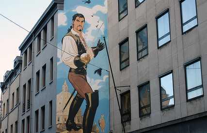 Mural de Le Scorpion - Marini & Desberg