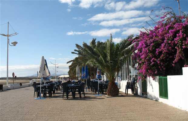 Promenade of Honda beach