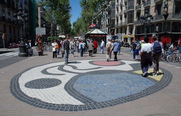 Mosaico Miró