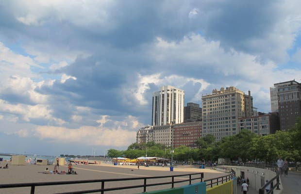 The Oak Street Beach
