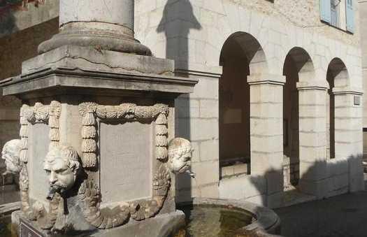 La fontaine de Gourdon