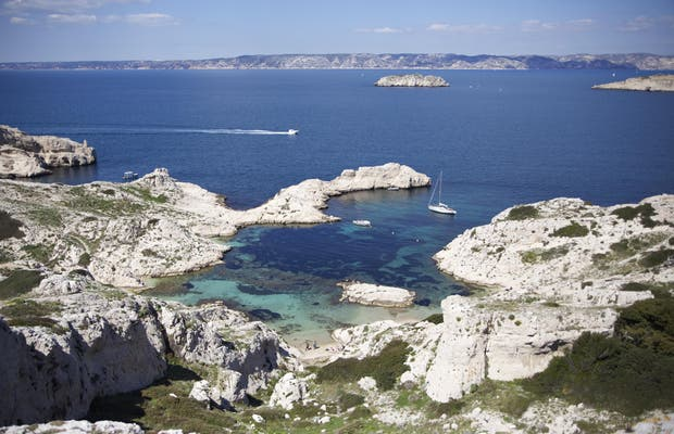 Isola del Frioul a Marsiglia