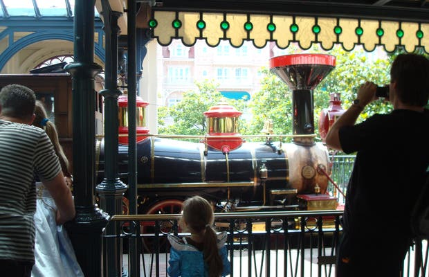 Disneyland Railroad Station