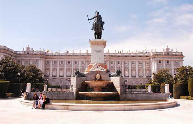 Statue de Felipe IV