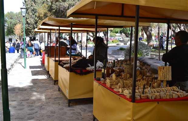 Plaza de Artesanos de Cachi