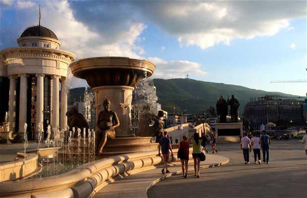 Fuente de las Madres de Macedonia