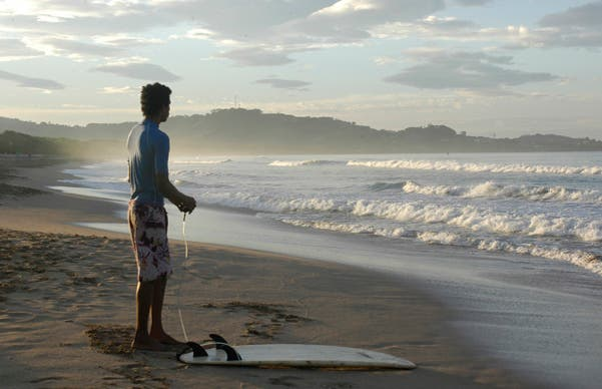Surf à Playa Grande