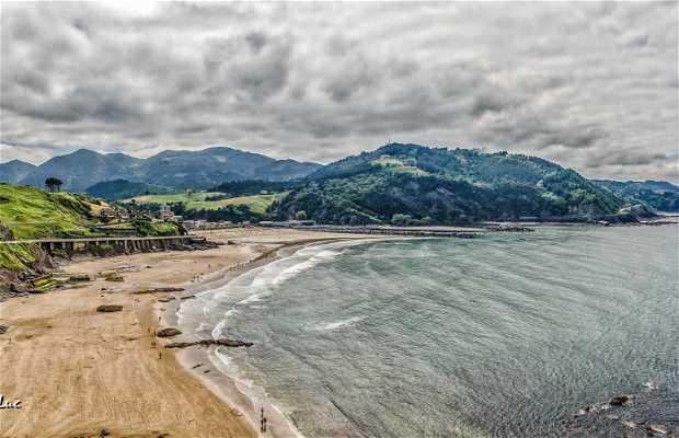 Playa de Deba (Playa de Santiago)