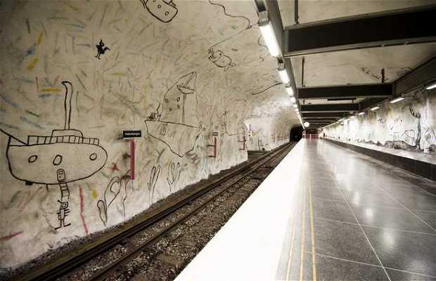 Estación de metro Hallonbergen